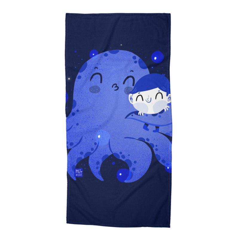 Hugs Accessories Beach Towel by Maria Jose Da Luz