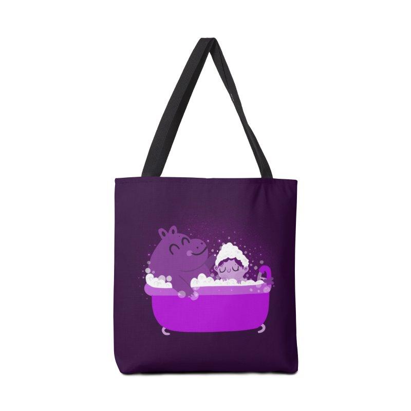 Bubble bath Accessories Bag by Maria Jose Da Luz