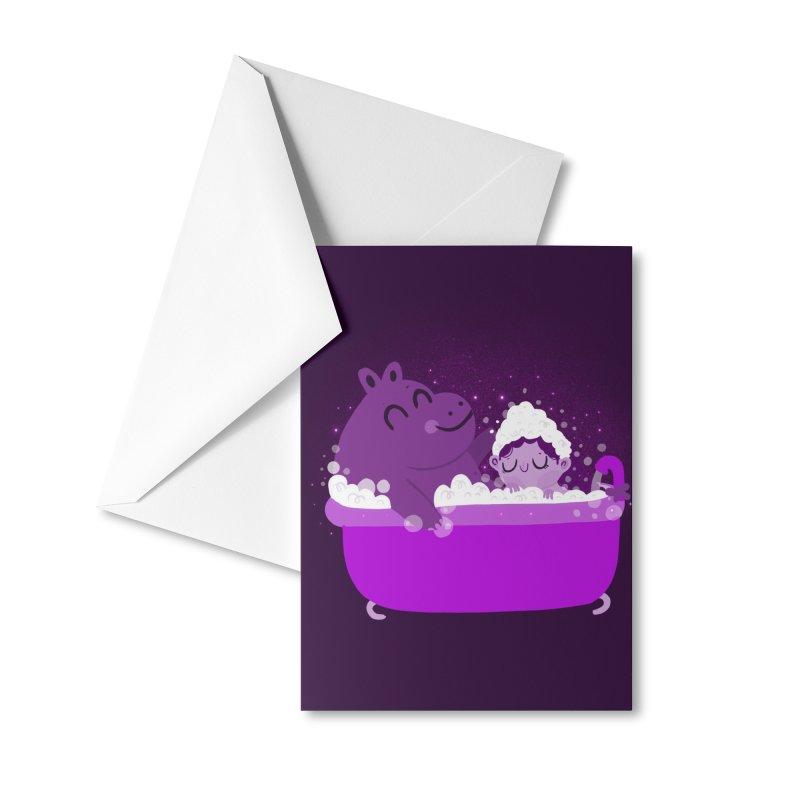 Bubble bath Accessories Greeting Card by Maria Jose Da Luz