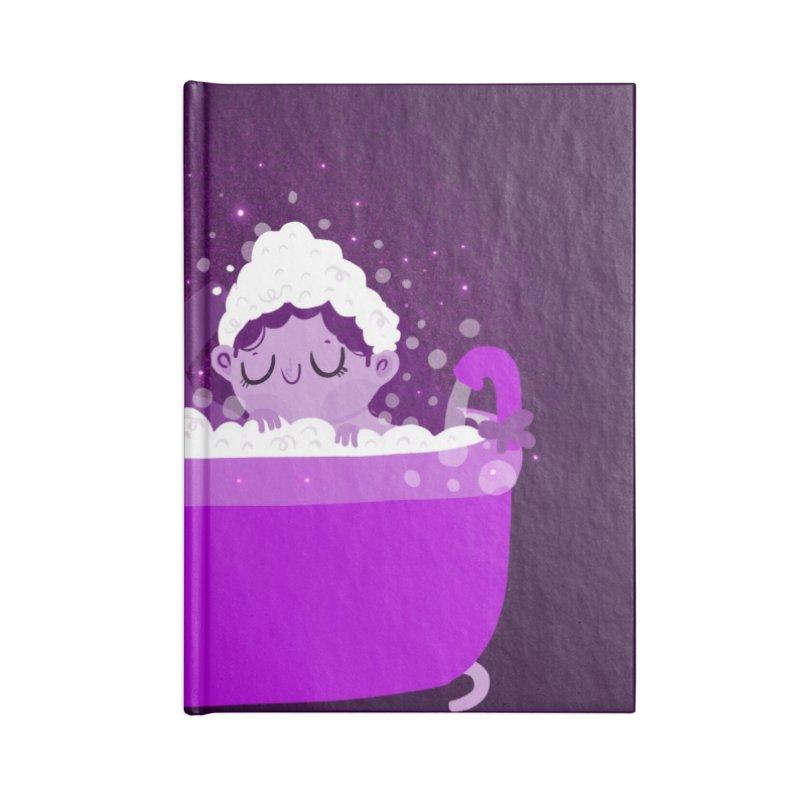 Bubble bath Accessories Notebook by Maria Jose Da Luz