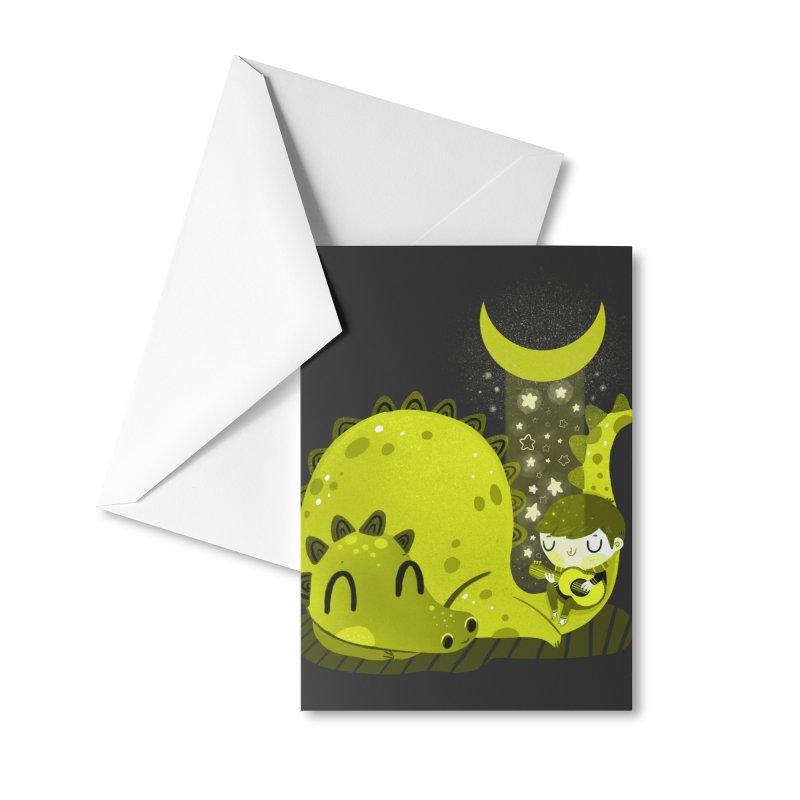Moon serenade Accessories Greeting Card by Maria Jose Da Luz