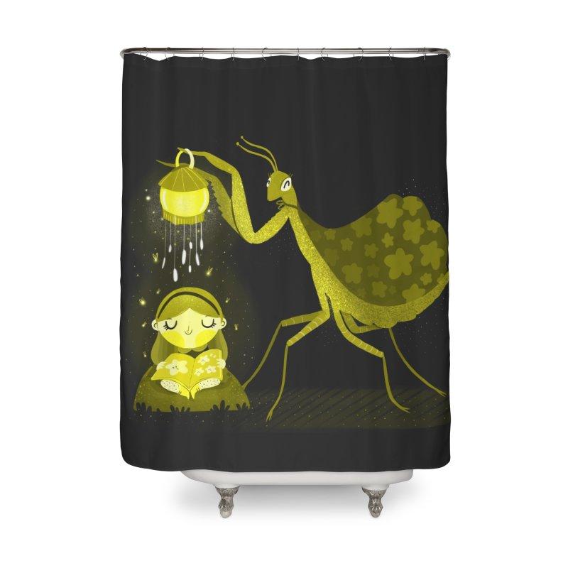 Storytime Home Shower Curtain by Maria Jose Da Luz