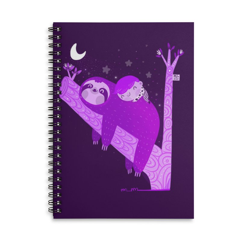 Resting Accessories Notebook by Maria Jose Da Luz