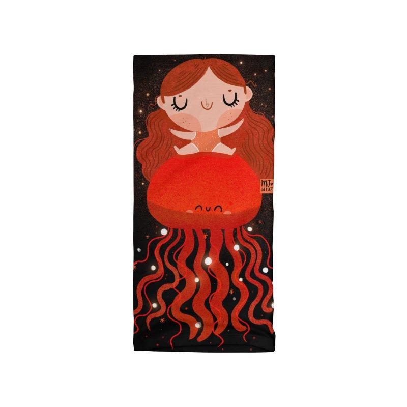 Jellyfish Accessories Neck Gaiter by Maria Jose Da Luz