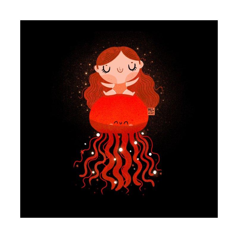 Jellyfish Home Rug by Maria Jose Da Luz