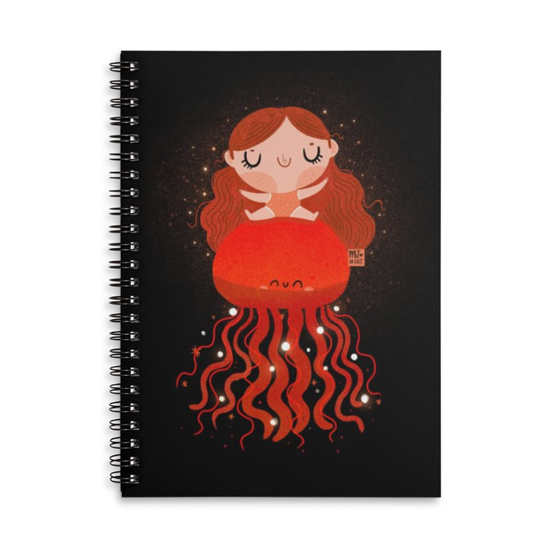 Jellyfish Accessories Notebook by Maria Jose Da Luz