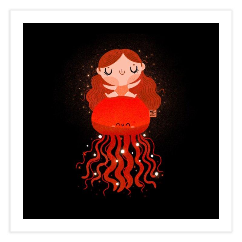 Jellyfish Home Fine Art Print by Maria Jose Da Luz