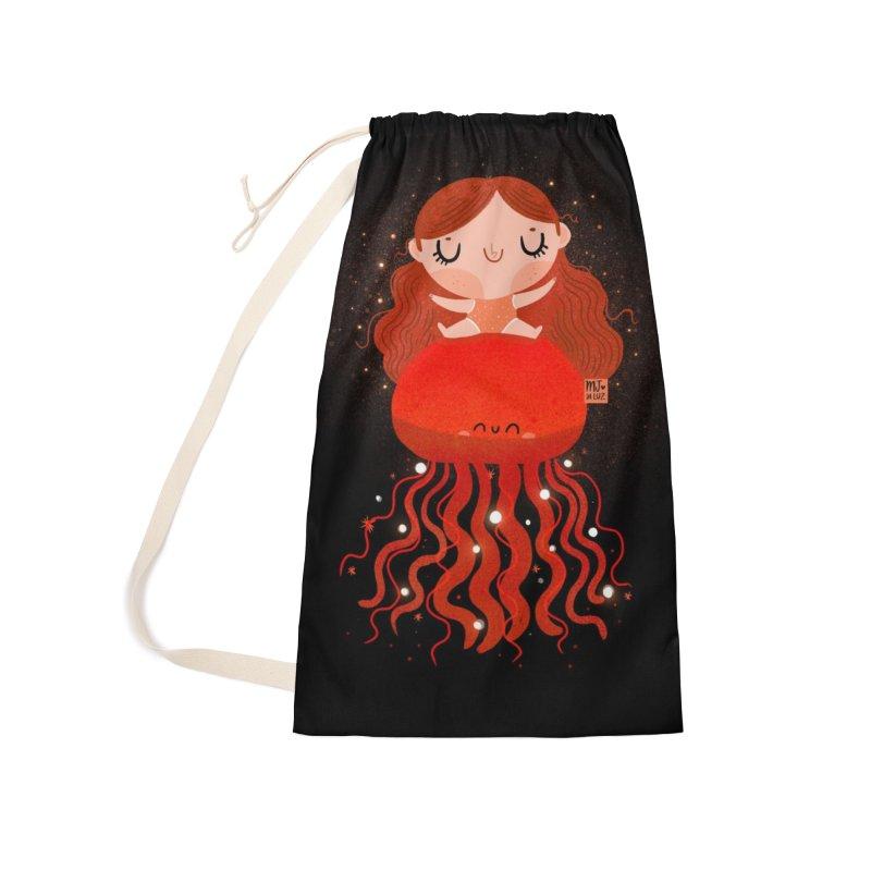 Jellyfish Accessories Bag by Maria Jose Da Luz