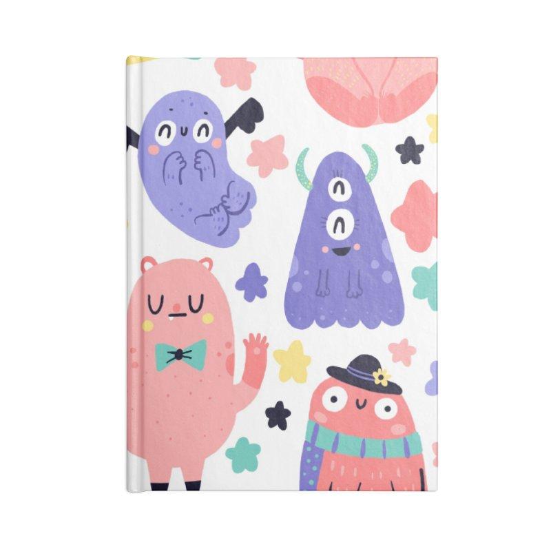Monstris Accessories Notebook by Maria Jose Da Luz