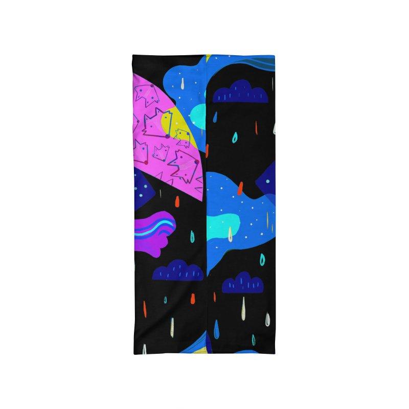Rainy days Accessories Neck Gaiter by Maria Jose Da Luz