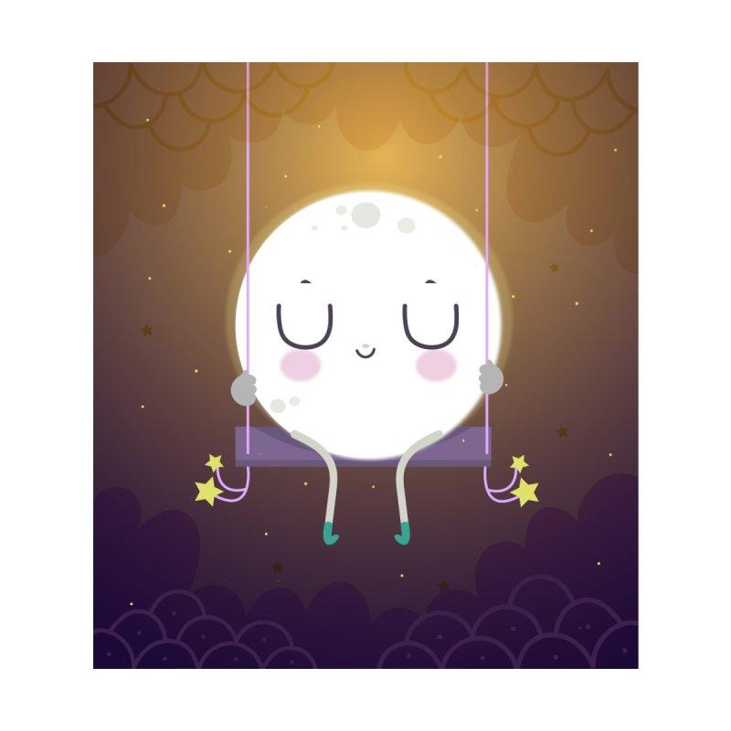 Little moon by Maria Jose Da Luz