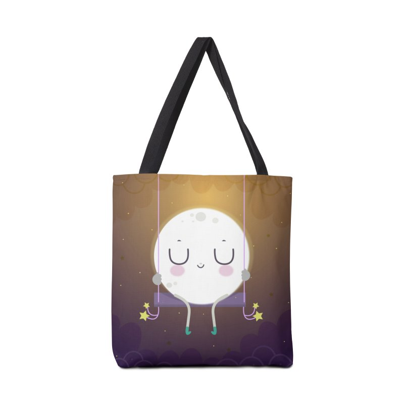Little moon Accessories Bag by Maria Jose Da Luz