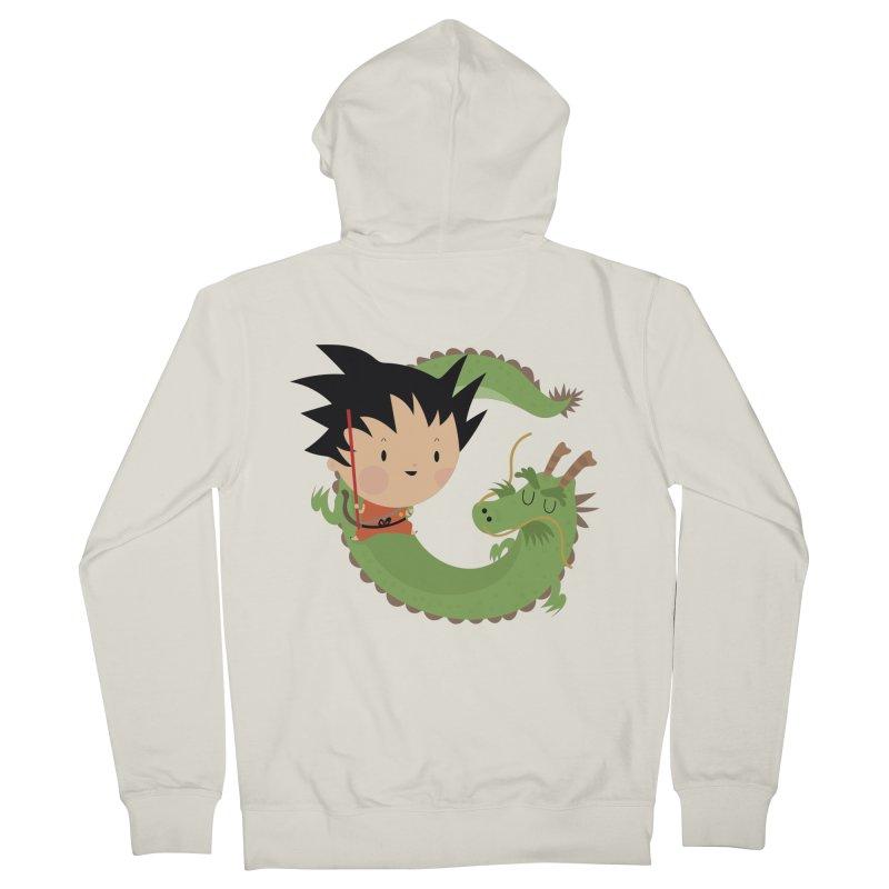 G is for Goku Women's Zip-Up Hoody by Maria Jose Da Luz