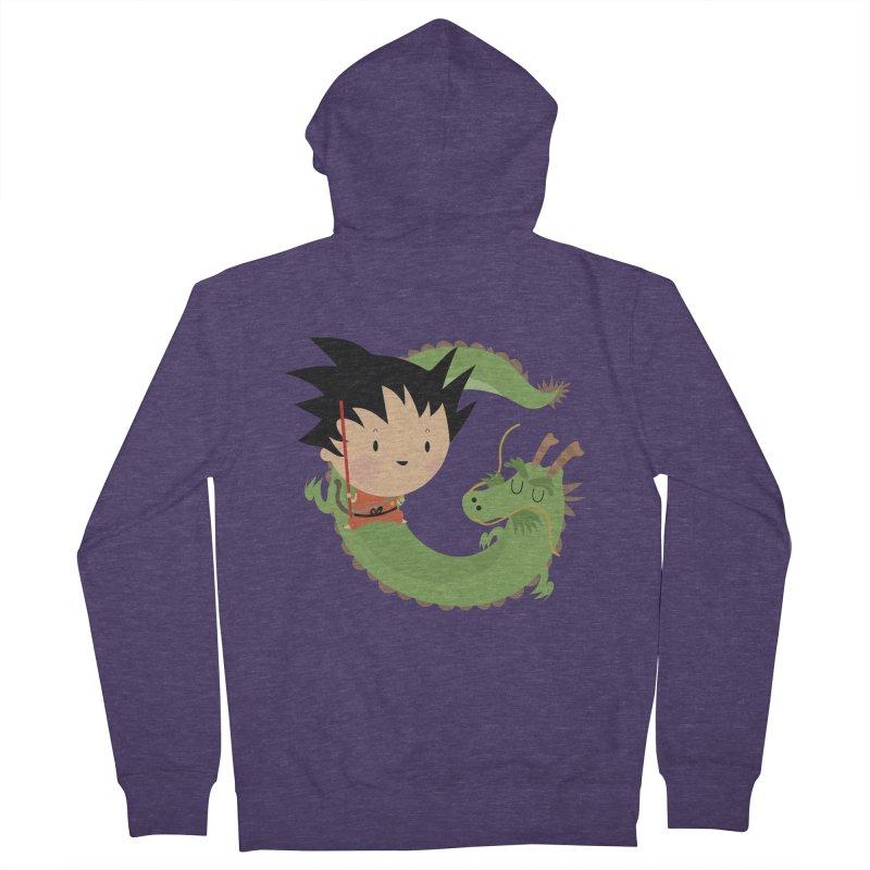 G is for Goku Men's Zip-Up Hoody by Maria Jose Da Luz