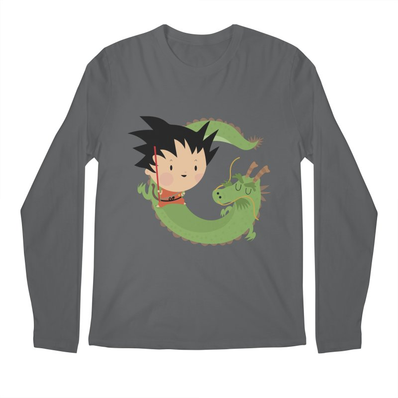 G is for Goku Men's Longsleeve T-Shirt by Maria Jose Da Luz