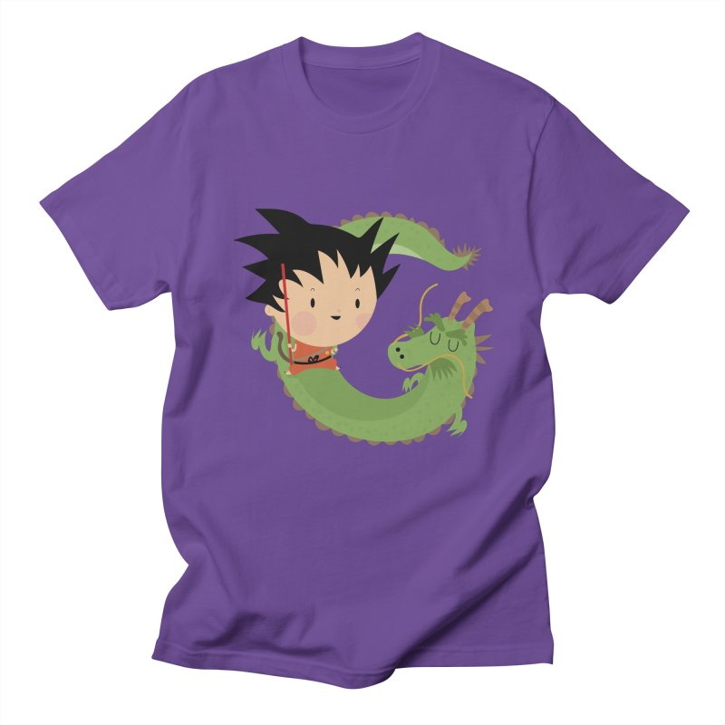 G is for Goku Men's T-shirt by Maria Jose Da Luz