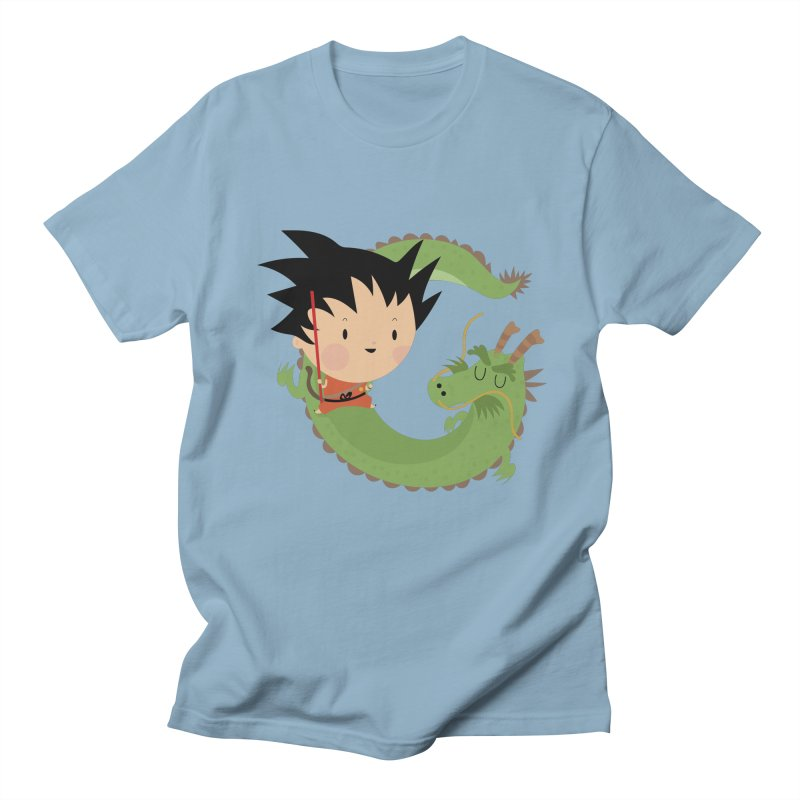 G is for Goku Men's T-shirt by Maria Jose Da Luz