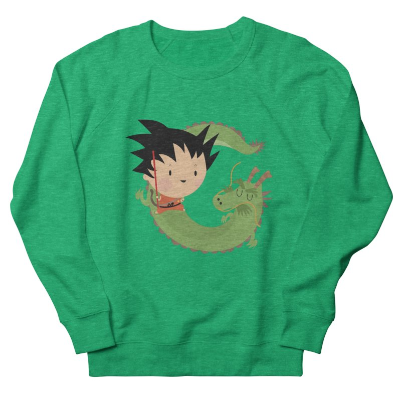 G is for Goku Women's Sweatshirt by Maria Jose Da Luz