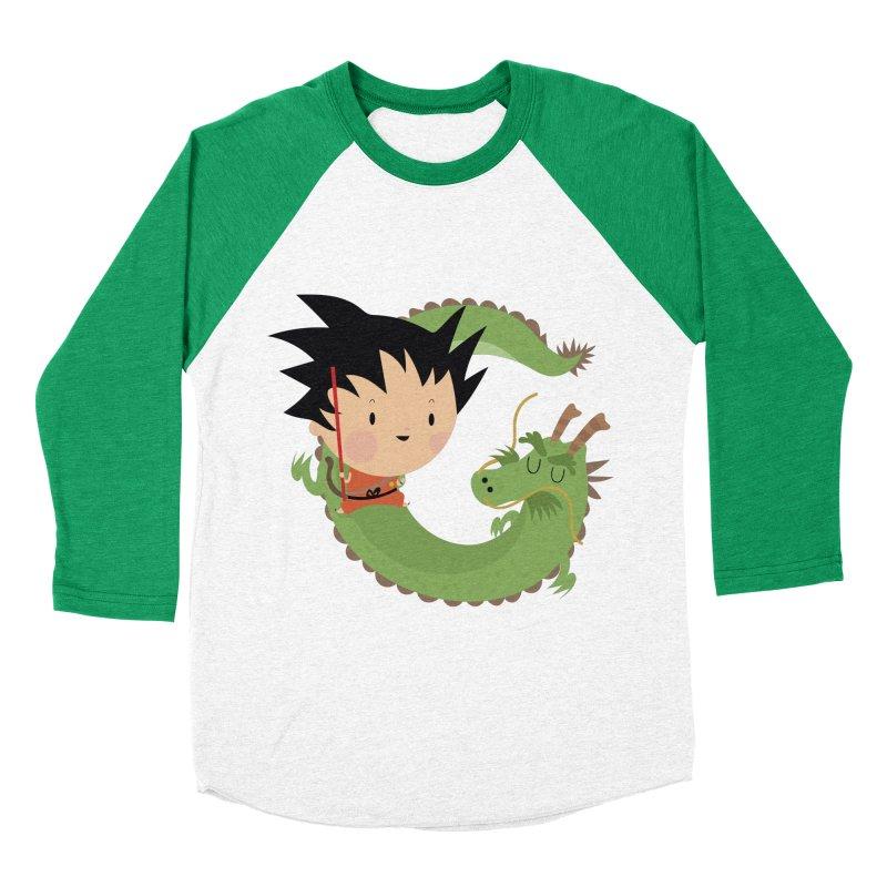 G is for Goku Women's Baseball Triblend T-Shirt by Maria Jose Da Luz