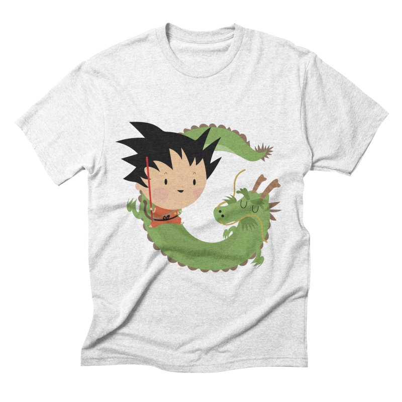 G is for Goku Men's Triblend T-shirt by Maria Jose Da Luz