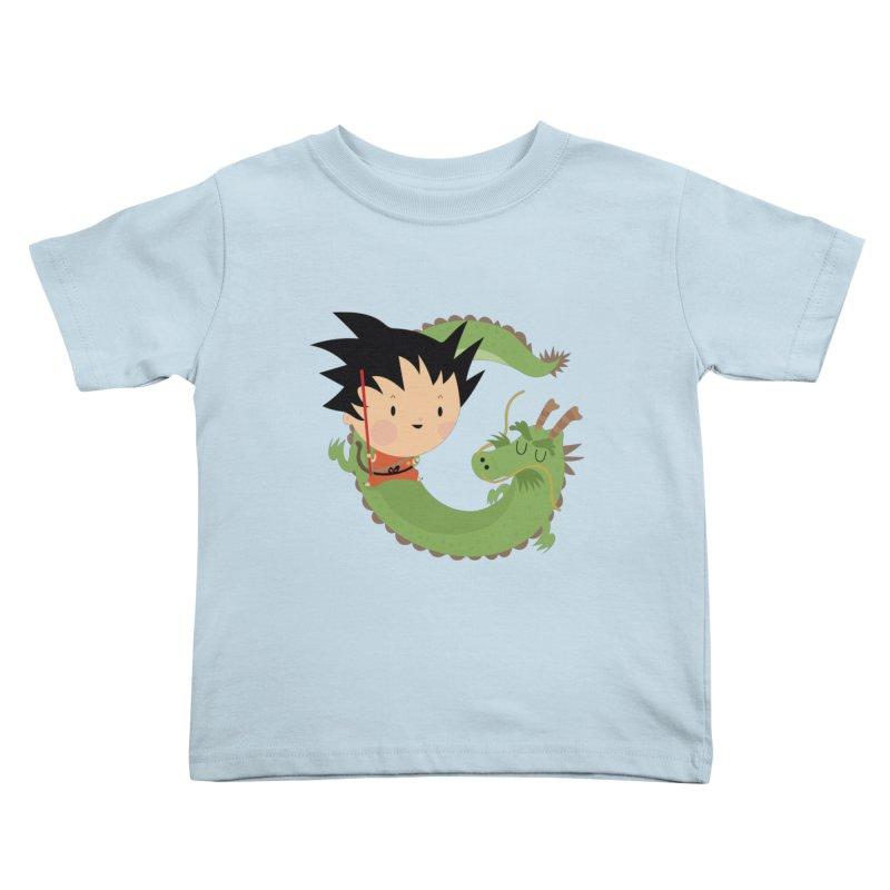 G is for Goku Kids Toddler T-Shirt by Maria Jose Da Luz