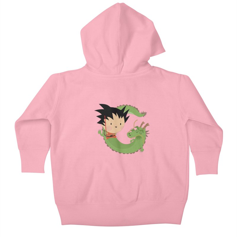 G is for Goku Kids Baby Zip-Up Hoody by Maria Jose Da Luz