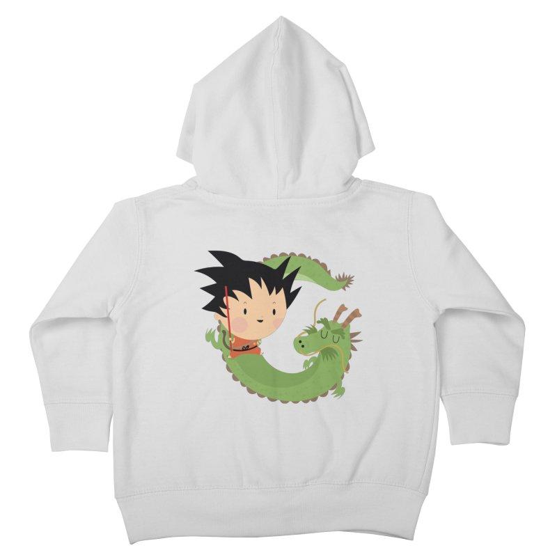 G is for Goku Kids Toddler Zip-Up Hoody by Maria Jose Da Luz