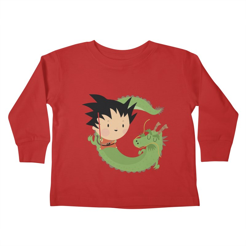 G is for Goku Kids Toddler Longsleeve T-Shirt by Maria Jose Da Luz
