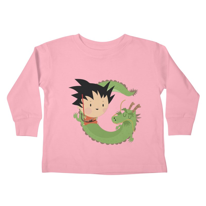 G is for Goku Kids Toddler Longsleeve T-Shirt by Maria Jose Da Luz
