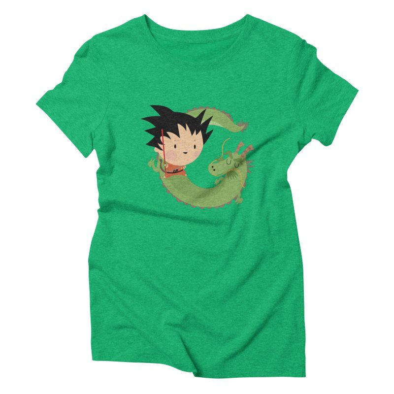 G is for Goku Women's Triblend T-Shirt by Maria Jose Da Luz