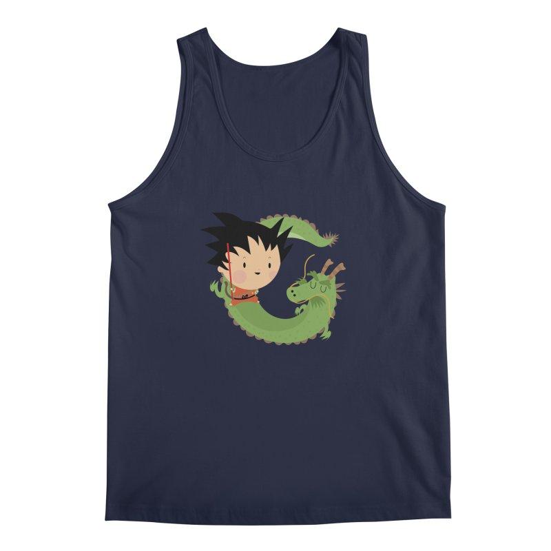 G is for Goku Men's Tank by Maria Jose Da Luz
