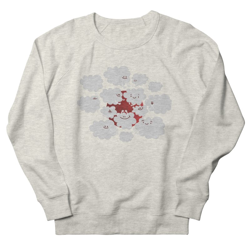 Red Moon Women's Sweatshirt by Maria Jose Da Luz