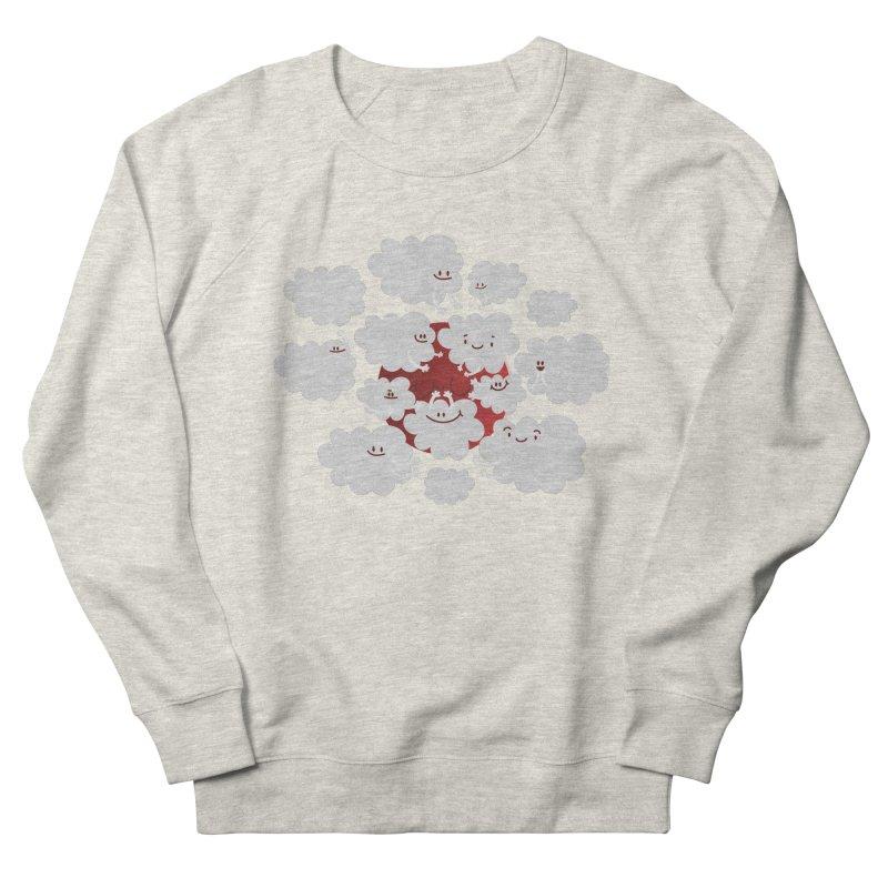 Red Moon Men's Sweatshirt by Maria Jose Da Luz