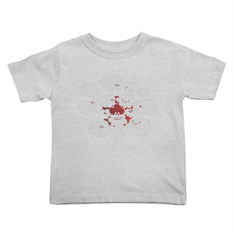Red Moon Kids Toddler T-Shirt by Maria Jose Da Luz