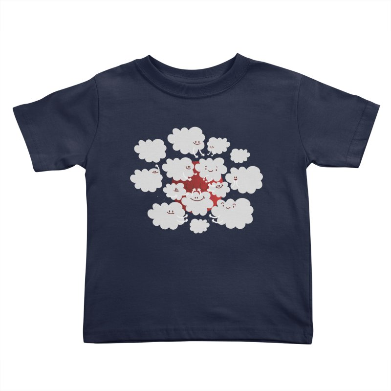 Red Moon Kids Toddler T-Shirt by Maria Jose Da Luz