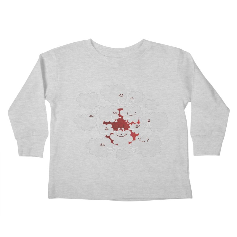 Red Moon Kids Toddler Longsleeve T-Shirt by Maria Jose Da Luz