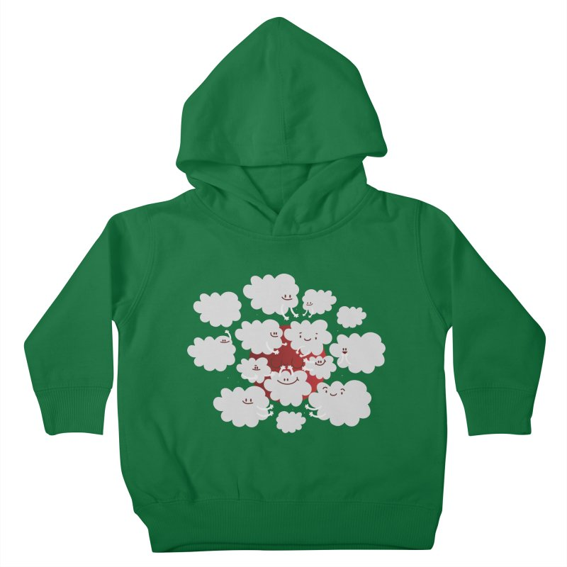 Red Moon Kids Toddler Pullover Hoody by Maria Jose Da Luz