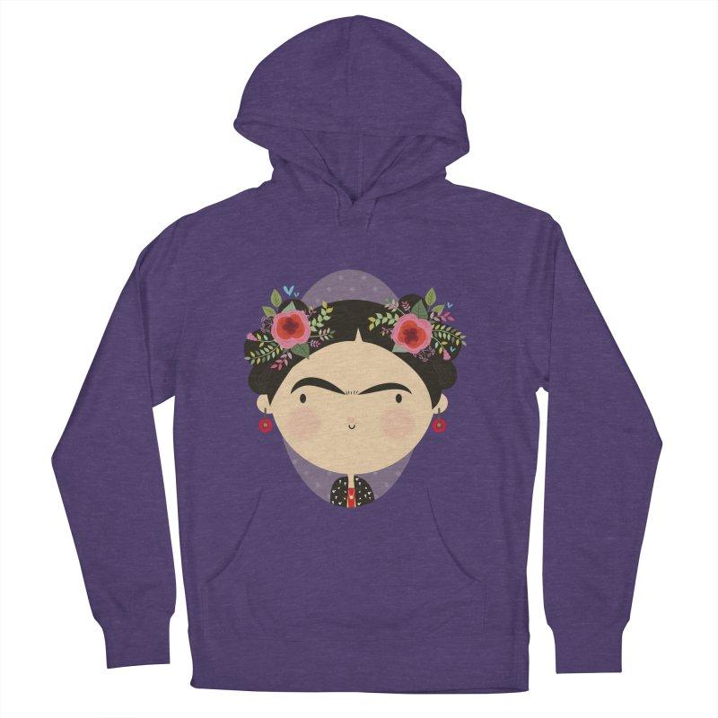 Frida Women's Pullover Hoody by Maria Jose Da Luz