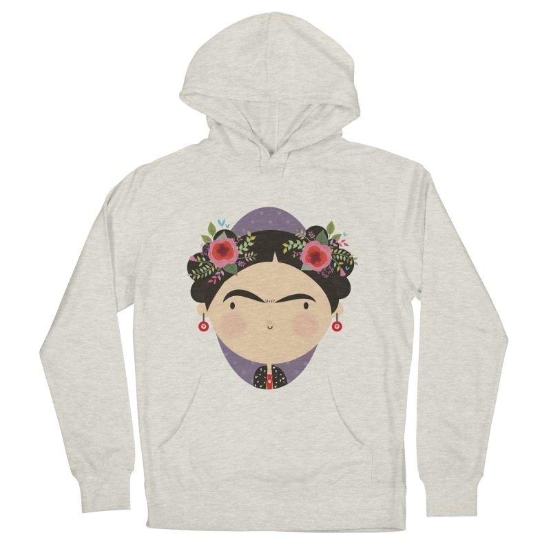 Frida Men's Pullover Hoody by Maria Jose Da Luz