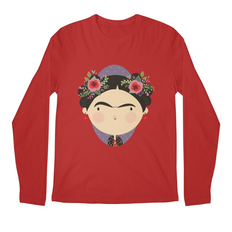 Frida Men's Longsleeve T-Shirt by Maria Jose Da Luz