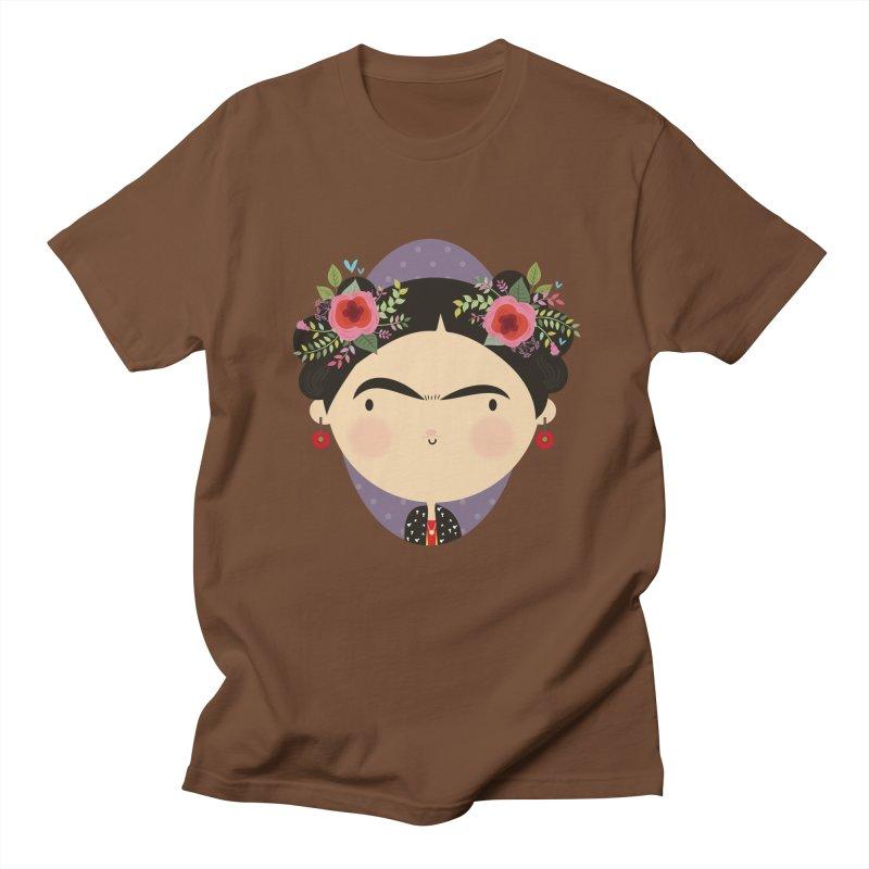 Frida Men's T-shirt by Maria Jose Da Luz