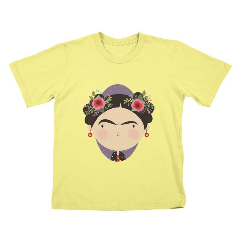 Frida Kids T-shirt by Maria Jose Da Luz
