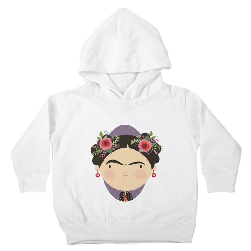 Frida Kids Toddler Pullover Hoody by Maria Jose Da Luz