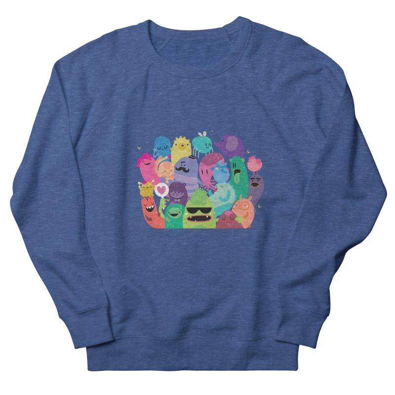 Monster reunion Women's Sweatshirt by Maria Jose Da Luz