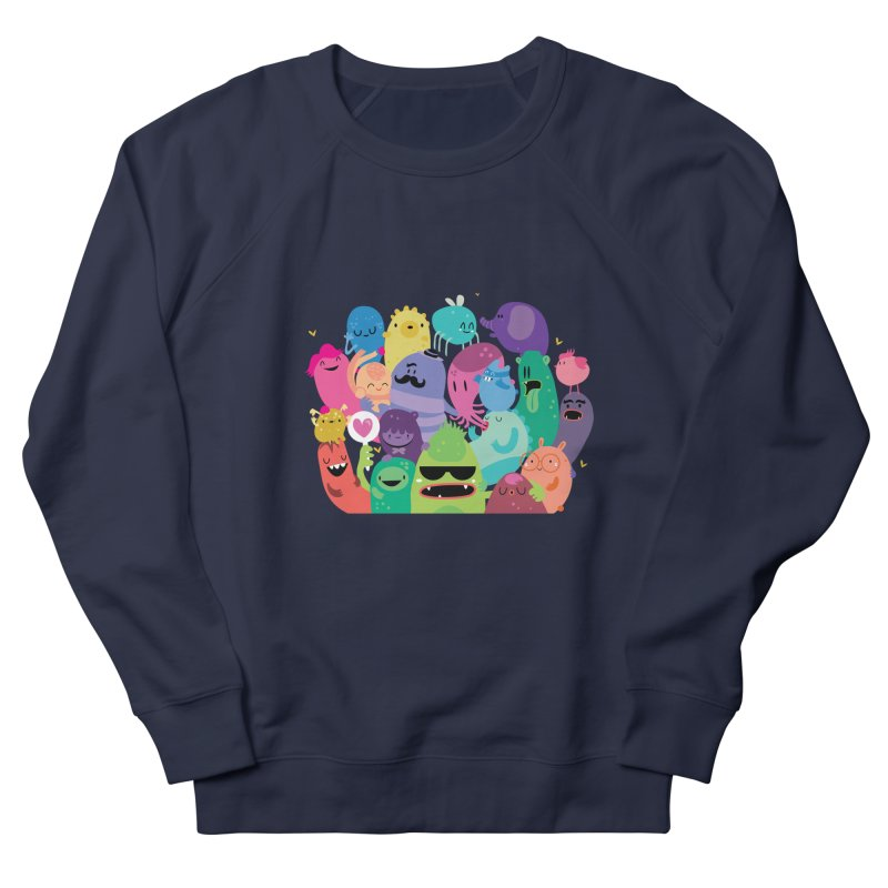 Monster reunion Women's Sweatshirt by Maria Jose Da Luz
