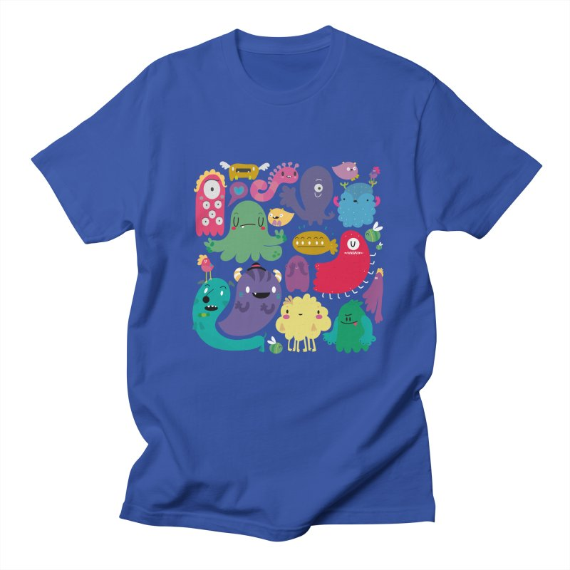 Colorful creatures Men's T-shirt by Maria Jose Da Luz