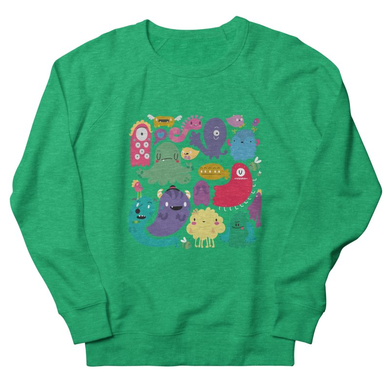 Colorful creatures Women's Sweatshirt by Maria Jose Da Luz