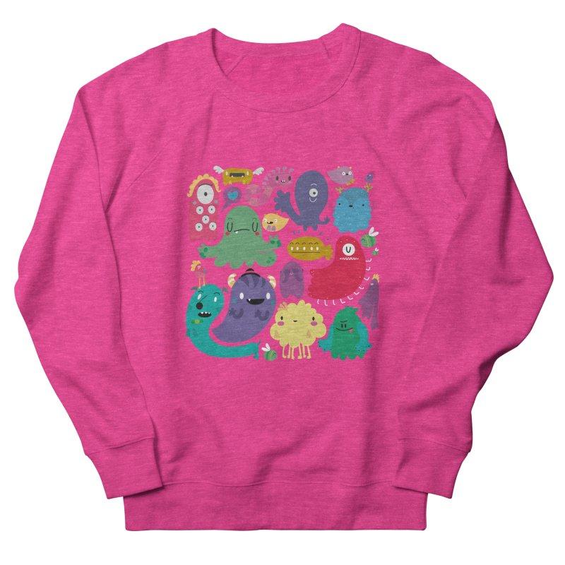 Colorful creatures Women's Sweatshirt by Maria Jose Da Luz