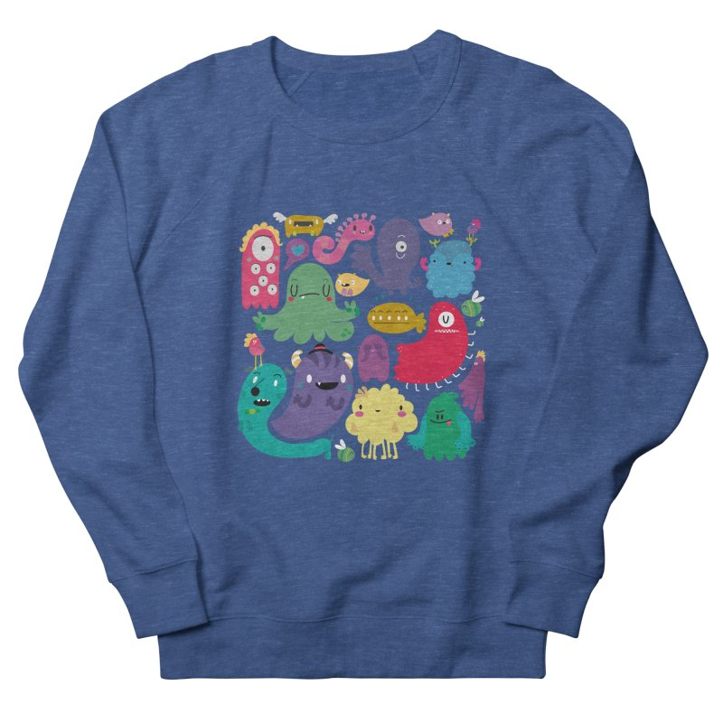Colorful creatures Men's Sweatshirt by Maria Jose Da Luz