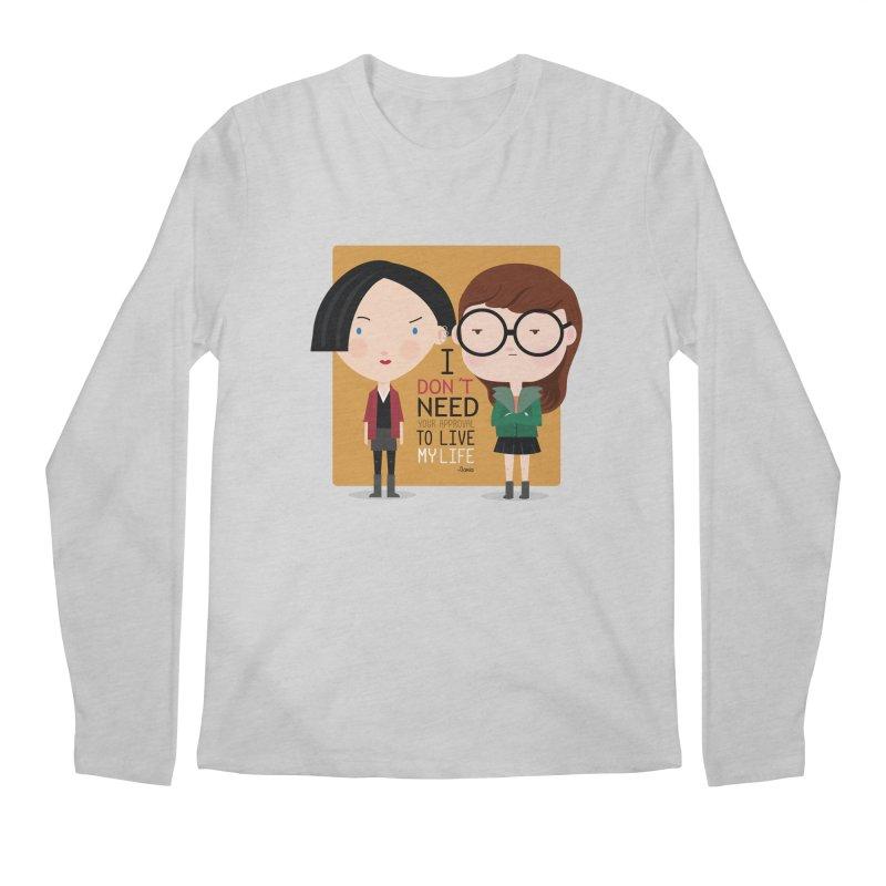 Daria  Men's Longsleeve T-Shirt by Maria Jose Da Luz